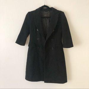 BCBG MaxAzria | Black Dress Coat